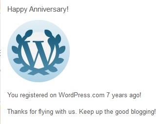 7 aastat wordpressis