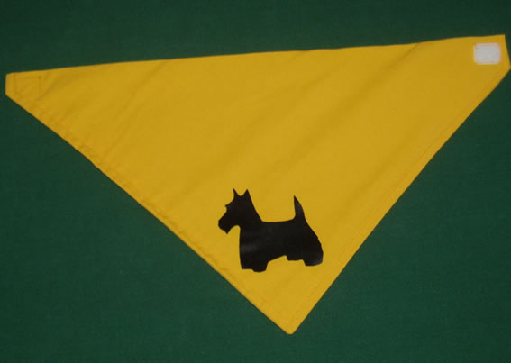 Scottie Dog Neckerchief