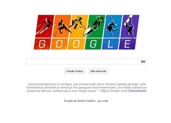 google_olympiaavamisel