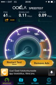 3G-kiirus