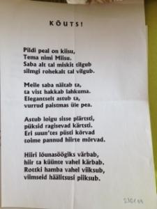 Luuletus_Kõuts