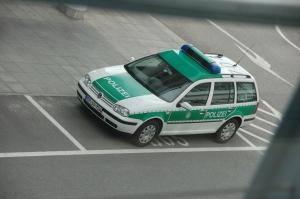 Polizei Wolksvagen lennuväljal