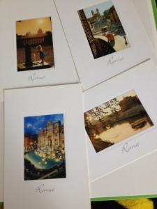 4 imeilusat Rooma postkaarti