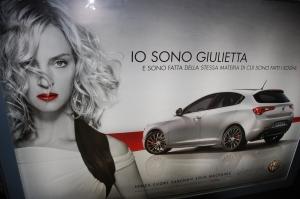 Alfa Romeo Giulietta reklaam