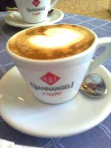 Giannangeli Caffee tass.. sees cappuccino