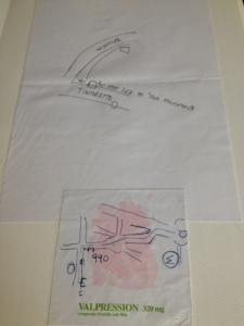 Silvio joonistatud ümbruskonnakaart