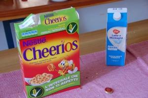 Cheerios ja 06.06 kuupäevaga piim