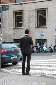 Ärimees-Giuseppe, kes meid tervitas ja oma teed läks...
