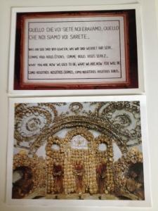 Postkaardid, millel see tsitaat ja näide kolbakujunditest